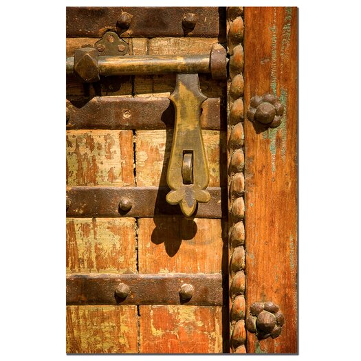 """Trademark Fine Art """"The Latch"""" by Aiana Photographic Print on Wrapped Canvas"""