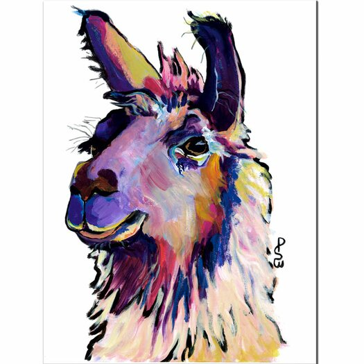"""Trademark Fine Art """"Fabio"""" by Pat Saunders-White Painting Print on Canvas"""