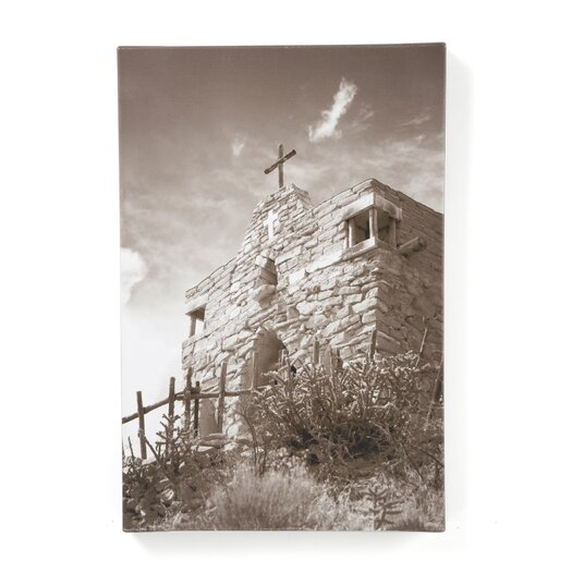 """Trademark Fine Art """"Upaya"""" by Aiana Photographic Print on Wrapped Canvas"""