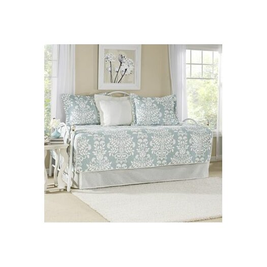 Laura Ashley Home Rowland Breeze 5 Piece Daybed Quilt Set