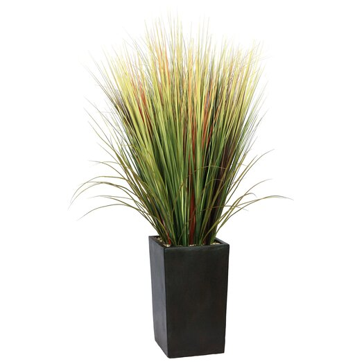 Laura Ashley Home Realistic Grass in Square Tapered Planter