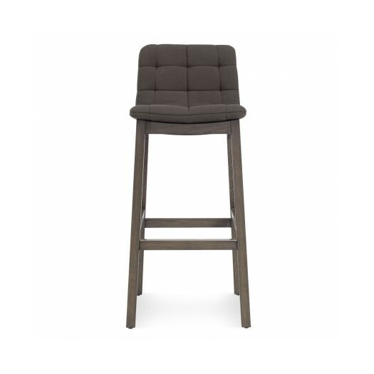 Wicket Smoke Bar Stool with Cushion