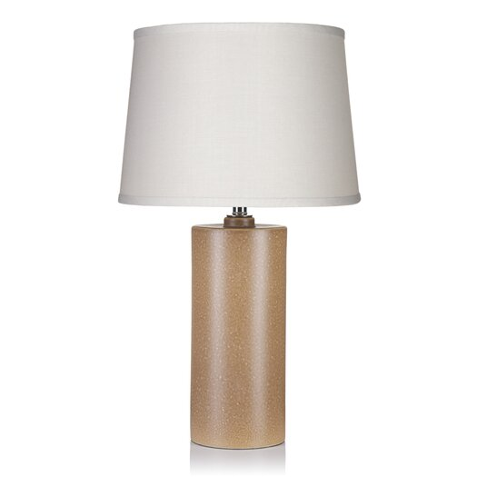 """Krush Kurve Bel Cylinder 33"""" H Table Lamp with Empire Shade"""