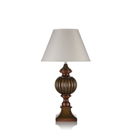 """Krush Rosabel 35"""" H Table Lamp with Empire Shade"""
