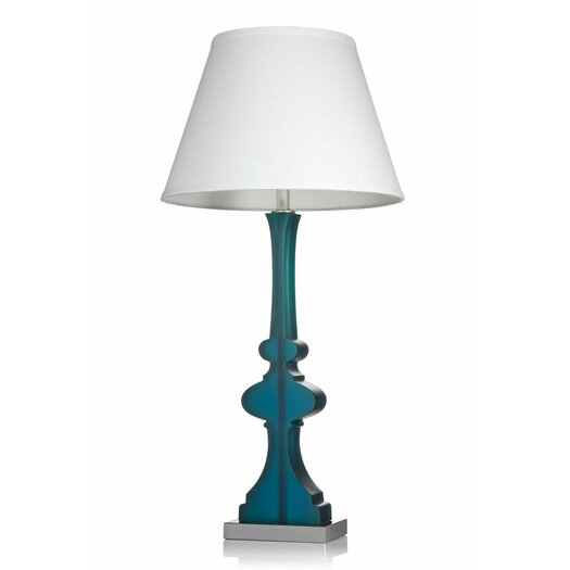 """Krush Kurve Audrey 34"""" H Table Lamp with Empire Shade"""
