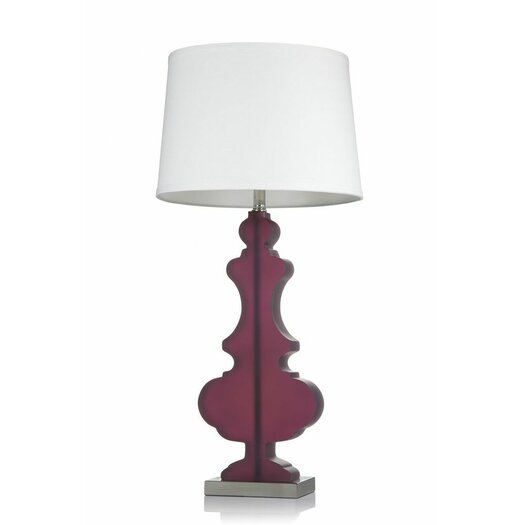 "Krush Kurve Elle 33"" H Table Lamp with Empire Shade"