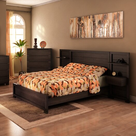 College Woodwork Grandview Panel Customizable Bedroom Set