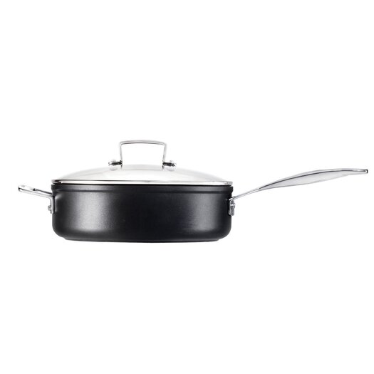 Le Creuset Toughened Nonstick 4.25 Qt. Saute Pan with Glass Lid