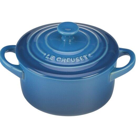 Le Creuset Stoneware 0.25 Qt. Round Casserole