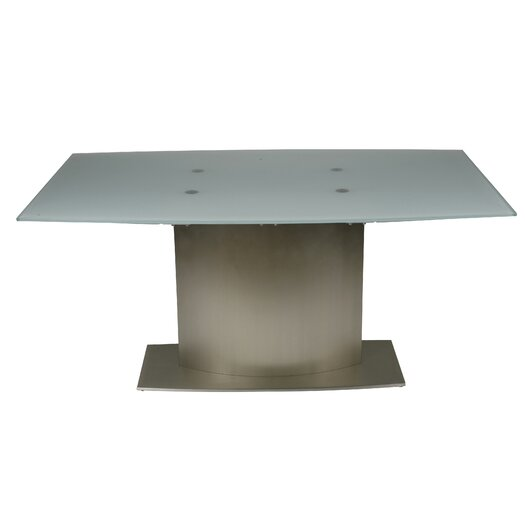 Whiteline Imports Unique Extendable Dining Table