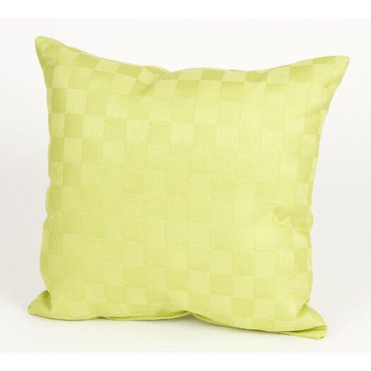 Sweet Potato by Glenna Jean LuLu Pillow with Checker Pattern Cotton Throw Pillow