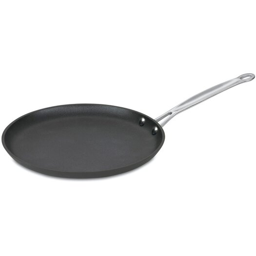 "Cuisinart Chef's Classic Hard-Anodized 10"" Non-Stick Crepe Pan"