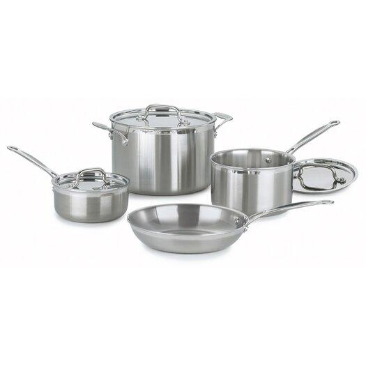 Cuisinart MultiClad Pro 7 Piece Cookware Set