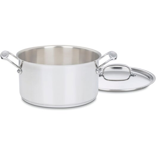 Cuisinart Chef's Classic Stainless Steel Stock Pot with Lid