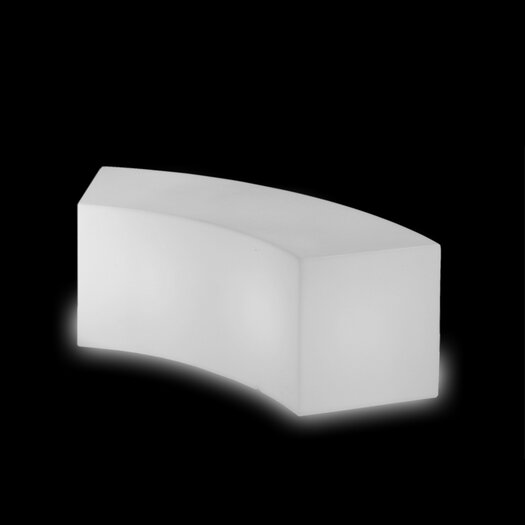 Slide Design Snake Polyethylene Bedroom Bench