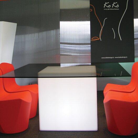 Slide Design Square Coffee Table
