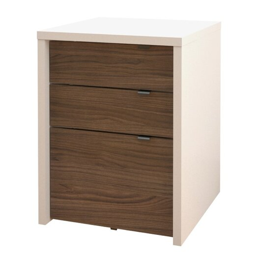 Nexera Liber-T 3 Drawer File Cabinet