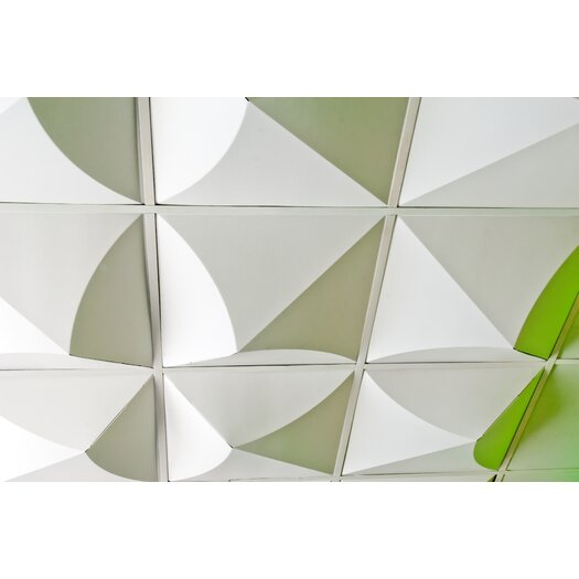 Mio Culture FoldScapes Bloom 2 ft. x 2 ft. Drop-In Ceiling Tile in White