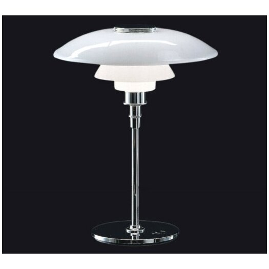 "Louis Poulsen PH 21.7"" H Table Lamp with Bowl Shade"