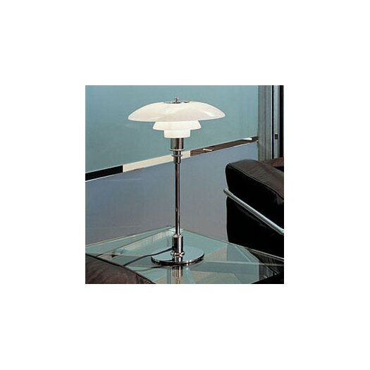 "Louis Poulsen PH 18.6"" H Table Lamp with Bowl Shade"