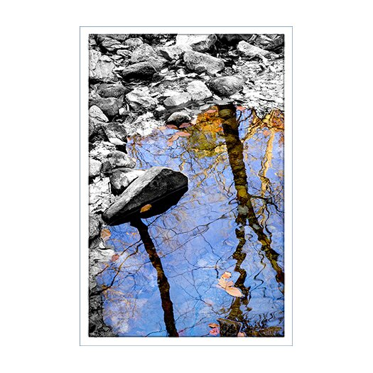 iCanvas 'Reflection Bear Mountain' by Harold Silverman - Foilage and Greenery Photographic Print on Canvas