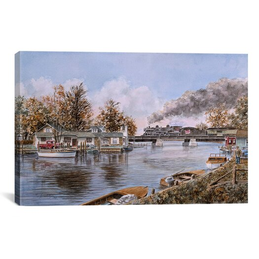 iCanvas 'Belle River, Ontario' by Stanton Manolakas Painting Print on Canvas