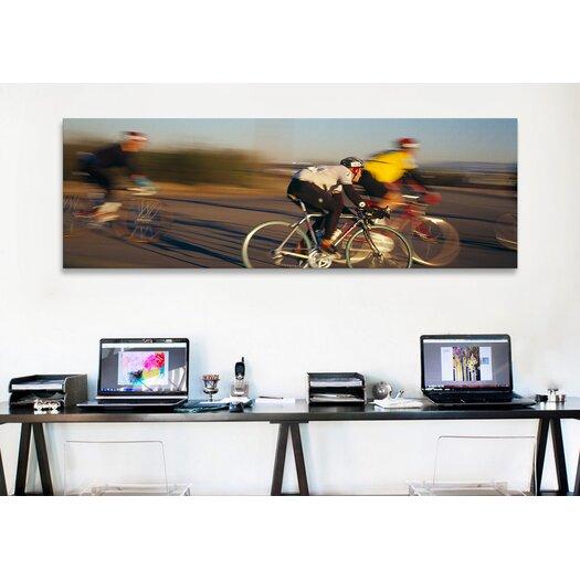 iCanvas Panoramic Bicycle Race Tucson, Arizona Photographic Print on Canvas