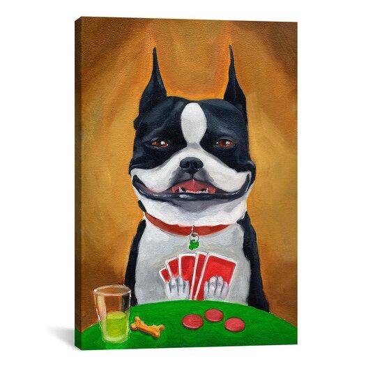 iCanvas 'BT Poker' by Brian Rubenacker Painting Print on Canvas