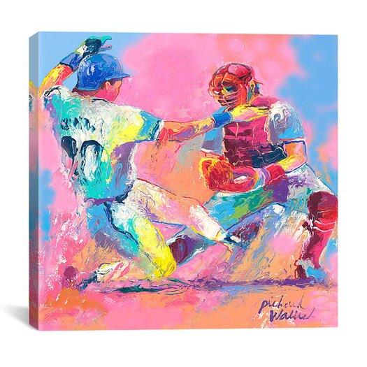 "iCanvas ""Baseball"" Canvas Wall Art by Richard Wallich"