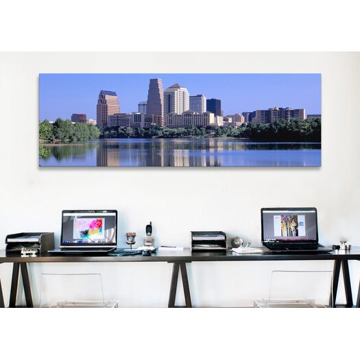 iCanvas Panoramic Austin, TX USA Photographic Print on Canvas