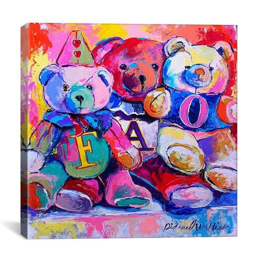 "iCanvas ""Bears"" Canvas Wall Art by Richard Wallich"