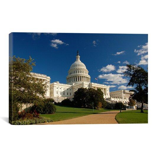iCanvas Political Capitol Building Photographic Print on Canvas
