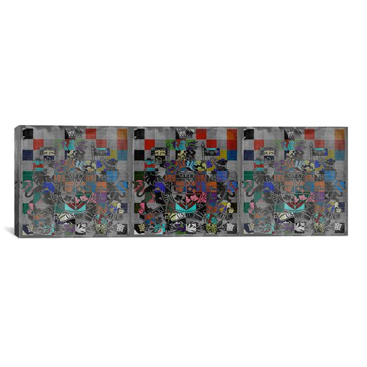 iCanvas Canada, Coat of Arms Panoramic Graphic Art on Canvas