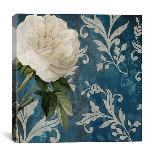 """iCanvas """"Anastasia (White Flower)"""" Canvas Wall Art by Color Bakery"""