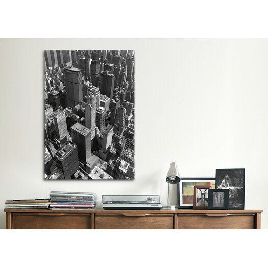 iCanvas 'Chrysler Building and Midtown Manhattan' by Chris Bliss Photographic Print on Canvas