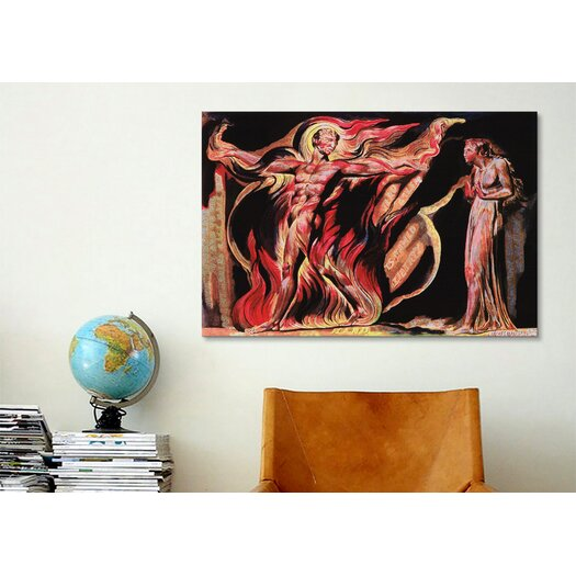 iCanvas 'Jerusalem the Emanation of The Giant Albion' by William Blake Painting Print on Canvas
