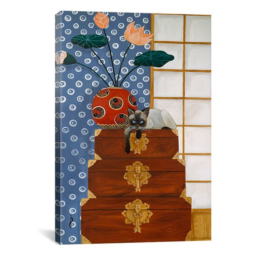 iCanvas 'Jasmine on Oriental Wedding Chests' by Jan Panico Graphic Art on Canvas