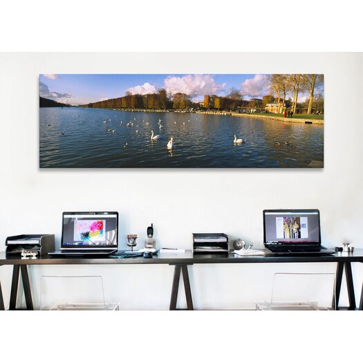 iCanvas Panoramic Chateau de Versailles, Versailles, France Photographic Print on Canvas