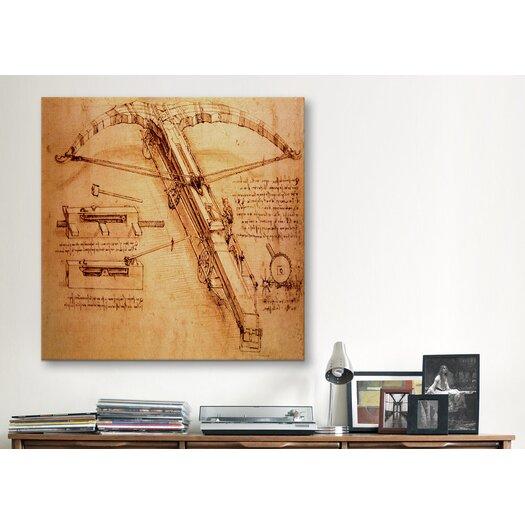 "iCanvas ""Giant Catapult, Circa 1499"" Canvas Wall Art by Leonardo da Vinci"