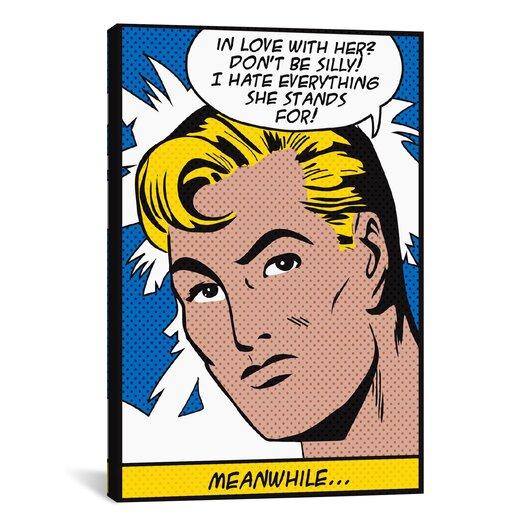 iCanvas 'In Love with Her (Roy Lichtenstein - Comic Books)' Graphic Art on Canvas