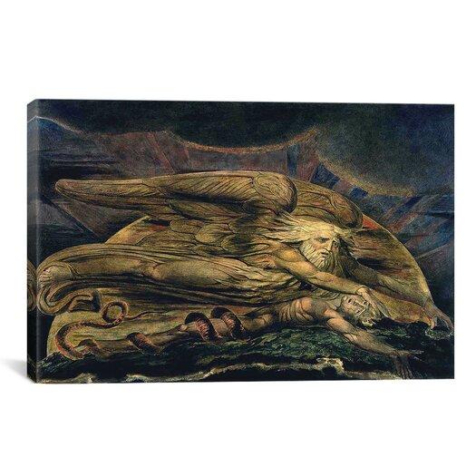 iCanvas 'Elohim Creating Adam' by William Blake Painting Print on Canvas