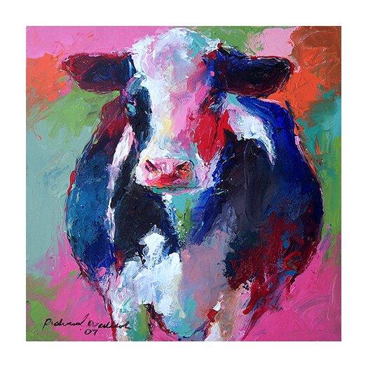 "iCanvas ""Cow II"" by Richard Wallich Graphic Art on Canvas"