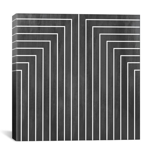 iCanvas Modern Mid Century Geometric Graphic Art on Canvas