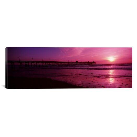iCanvas Panoramic San Diego Pier, San Diego, California Photographic Print on Canvas