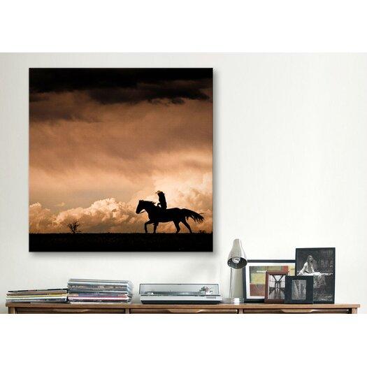 "iCanvas ""Ride the Storm#2"" Canvas Wall Art by Dan Ballard"