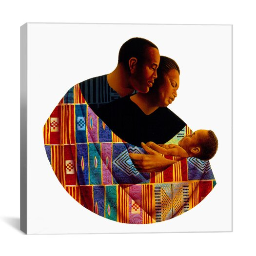 """iCanvas """"Family Circle"""" Canvas Wall Art by Keith Mallett"""