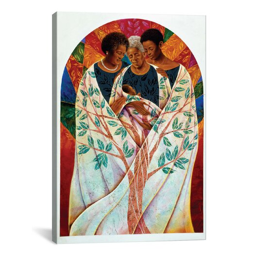 iCanvas 'Family Tree' by Keith Mallett Graphic Art on Canvas