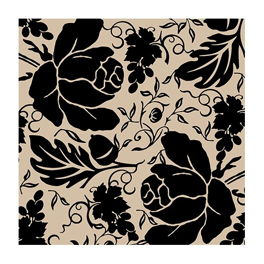 iCanvas Grapes and Buds by Mindy Sommers Graphic Art on Canvas in Black / Beige