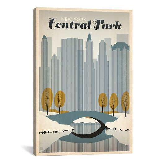 Icanvas 39 winter in central part new york 39 by anderson for Winter design group