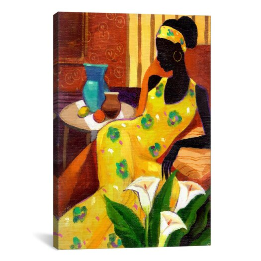 "iCanvas ""The Blue Vase"" Canvas Wall Art by Keith Mallett"